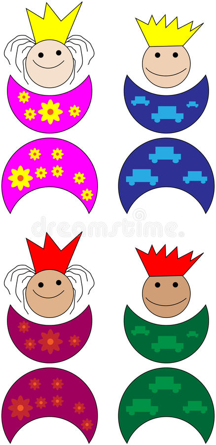 Download Prince and princess stock vector. Image of noble, cute - 11363715