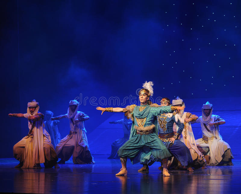 The prince Su-Hui ballet stock image