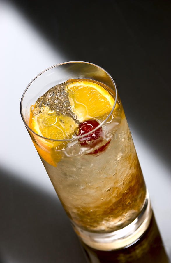 Prince of Wales cocktail stock image