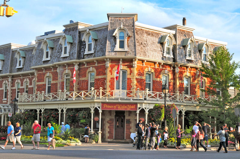 Prince of wales hotel, niagara on the lake royalty free stock photos