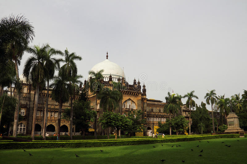 Prince of Wales Museum in Bombay. Prince of Wales Museum is the biggest Museum in India, was built between 1904 and 1914, when the Prince of Wales in 1905 named royalty free stock photography