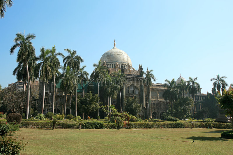Prince of Wales Museum, Mumbai royalty free stock photo