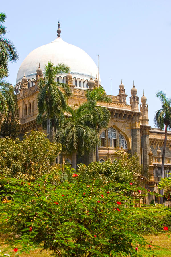 Prince of Wales Museum, Mumbai, India. Central dome of the Chhatrapati Shivaji Maharaj Vastu Sangrahalaya (Formerly know as the Prince of Wales Museum), Mumbai stock photos
