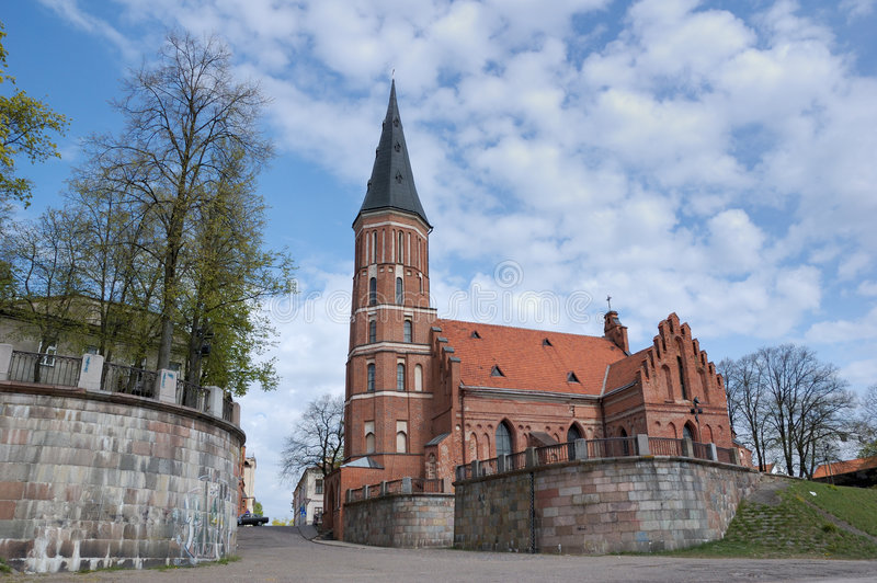 Prince Witold Church, Lithuani photo stock