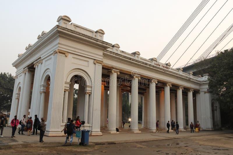 Princep Ghat, Kolkata, India royalty-vrije stock foto's