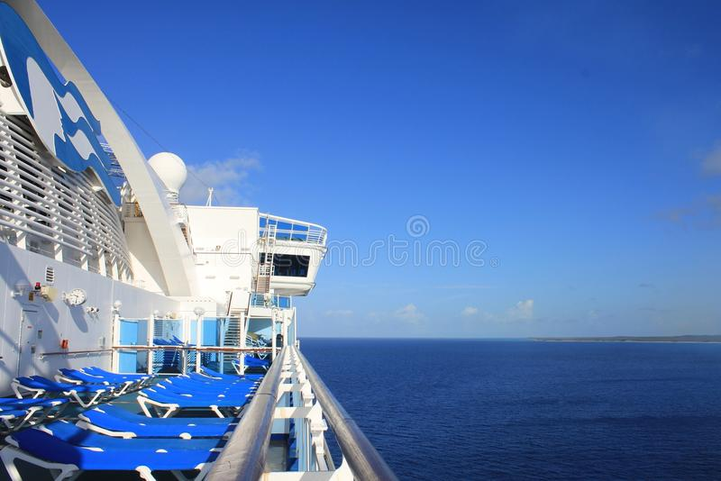 Princes Cruises ship royalty free stock image