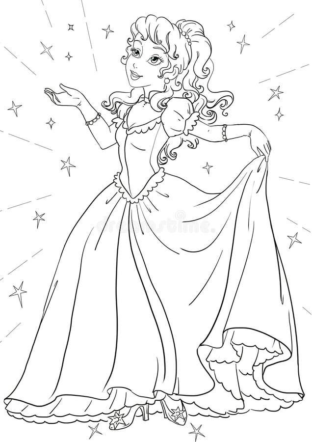 Princesa ilustración del vector