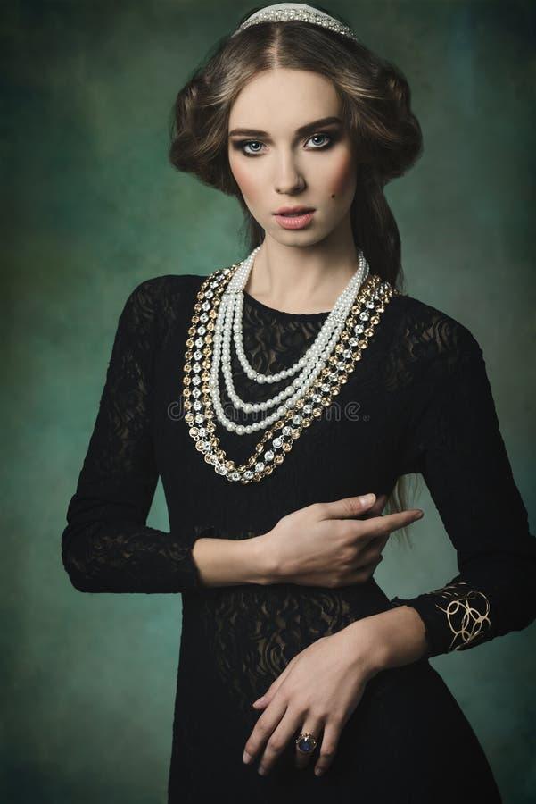 Princesa antiga elegante fotos de stock royalty free