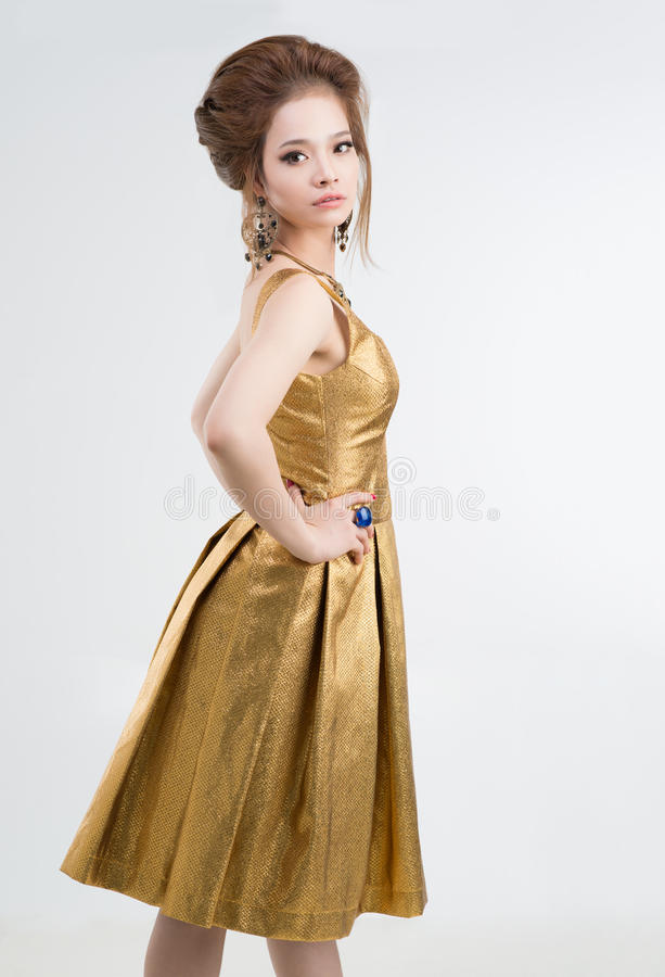 Princesa asiática foto de archivo libre de regalías