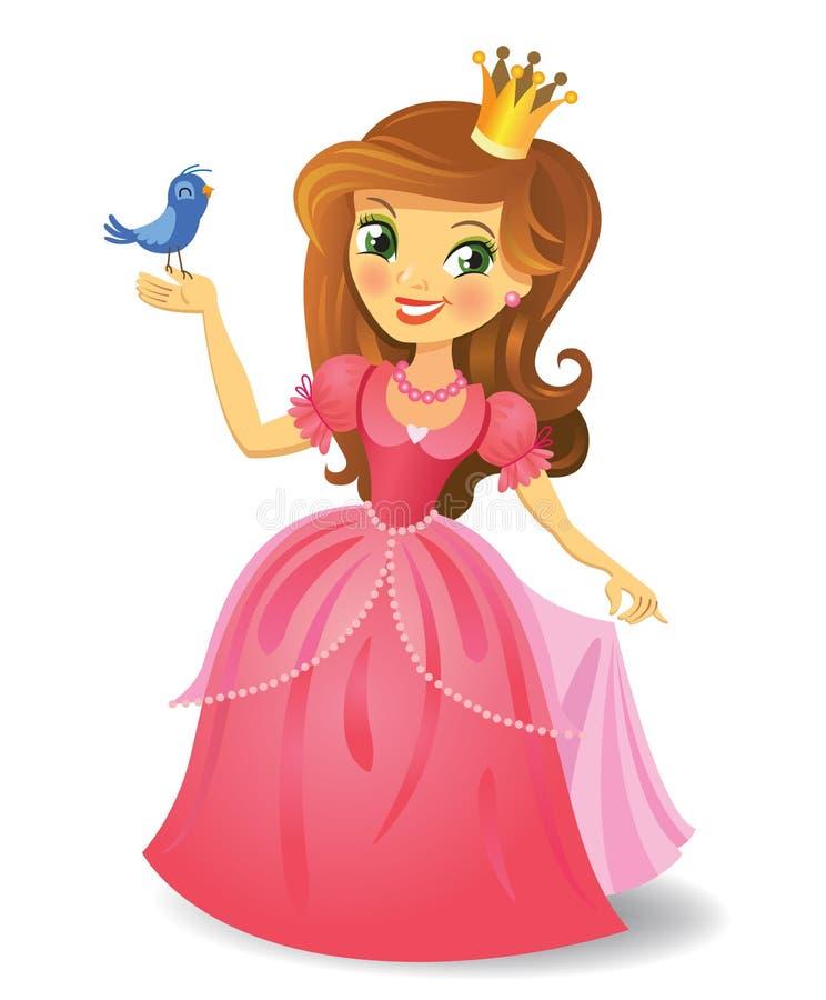 Princesa bonita ilustração do vetor