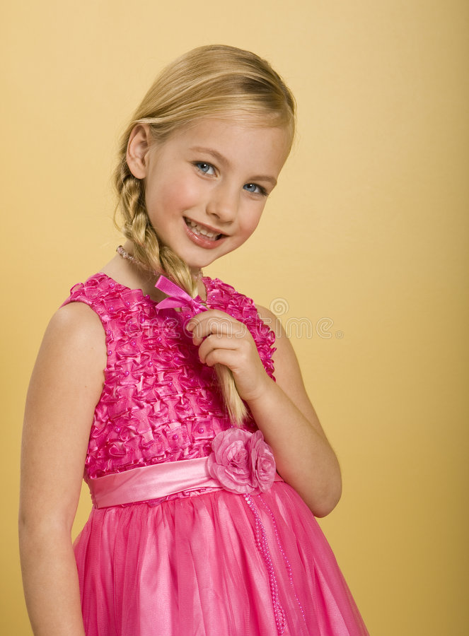Princesa bonito Menina imagens de stock