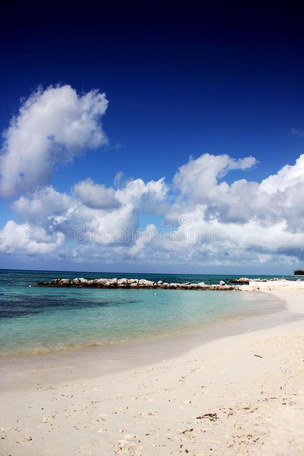 Princesa Cays Beach, Bahamas imagem de stock royalty free