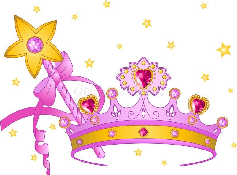 Princesa Collectibles ilustração do vetor