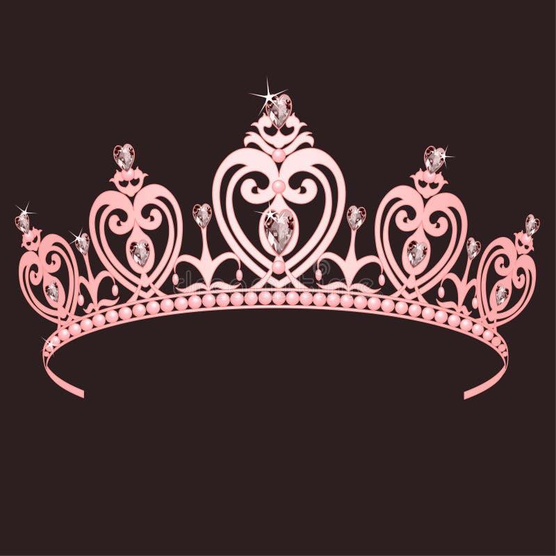 Princesa Crown ilustración del vector