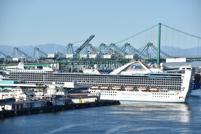Princesa Cruise Ship da estrela fotografia de stock