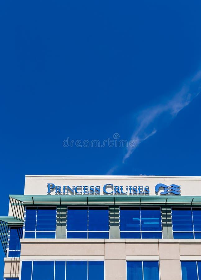 Princesa Cruises Corporate Headquarters imagenes de archivo
