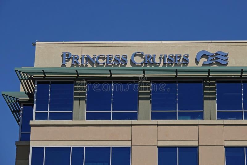 Princesa Cruises - Sede em Santa Clarita, Califórnia, EUA fotos de stock
