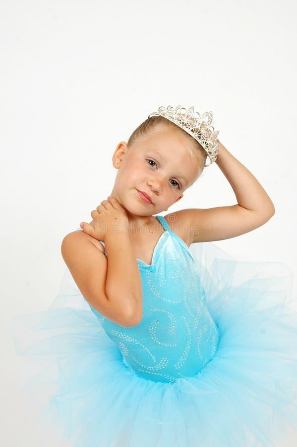Princesa da bailarina fotografia de stock