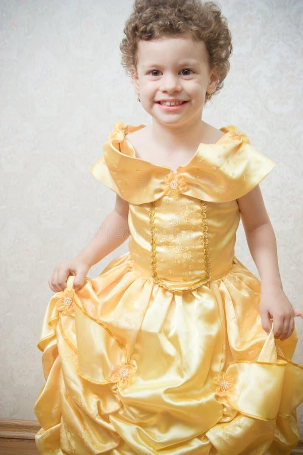 Princesa da criança bonita fotografia de stock