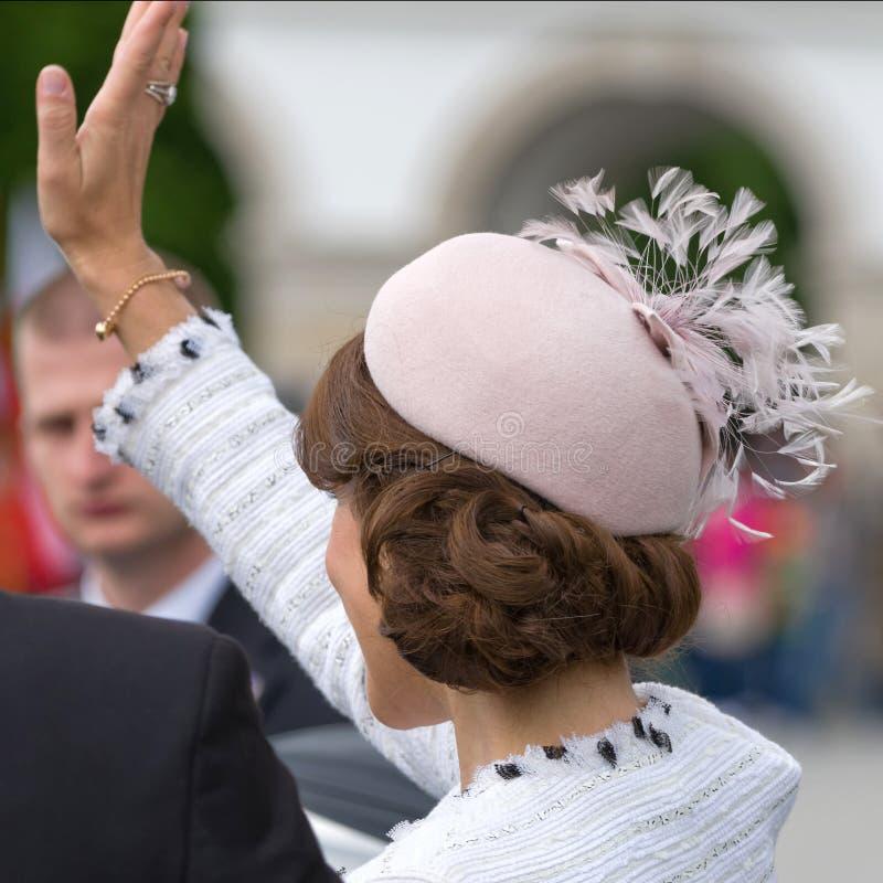 Princesa de coroa Mary Elizabeth de Dinamarca fotografia de stock