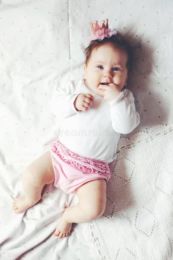 Princesa del bebé fotos de archivo