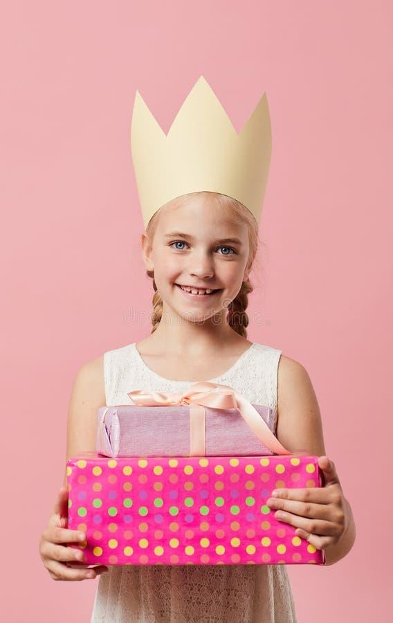 Princesa del cumplea?os imagen de archivo libre de regalías