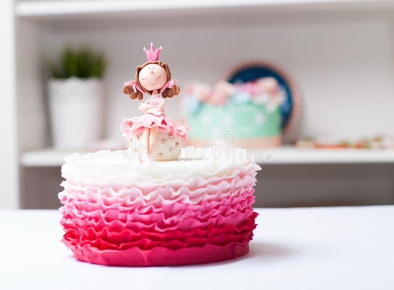 Princesa do bolo fotos de stock royalty free