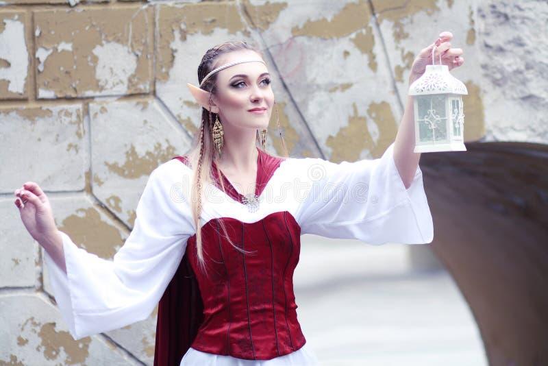 Princesa do duende imagens de stock