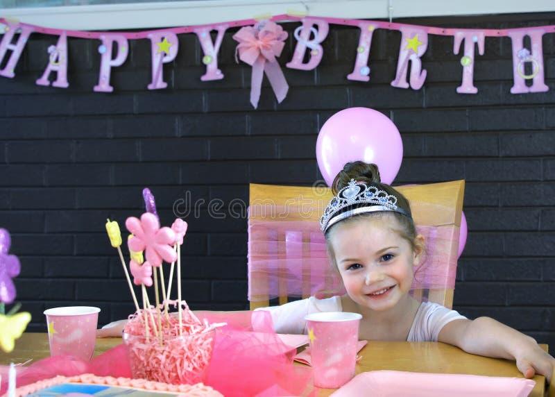 Princesa do feliz aniversario fotografia de stock royalty free