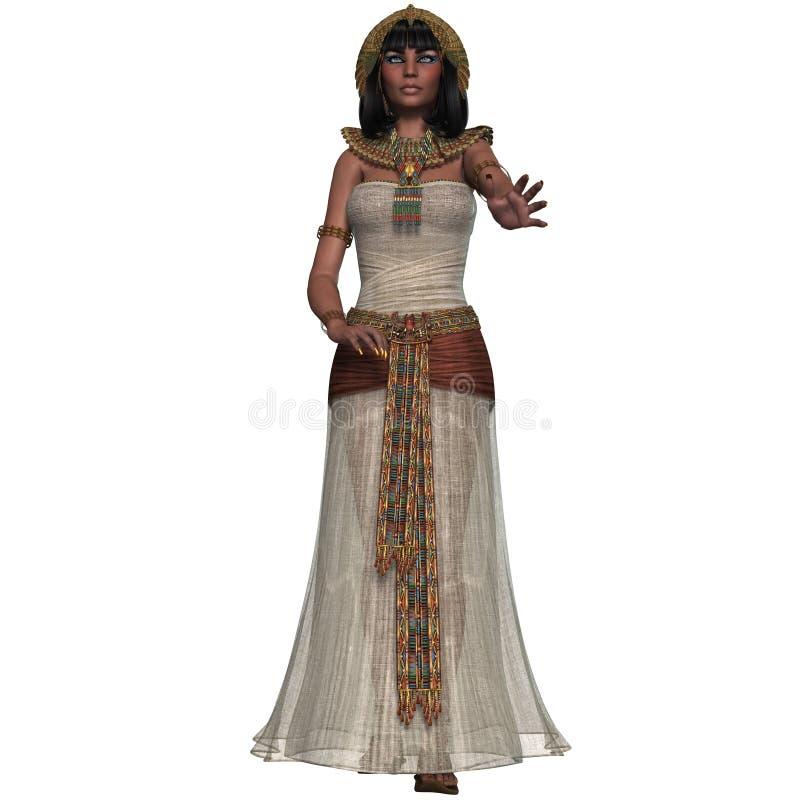 Princesa egipcia stock de ilustración