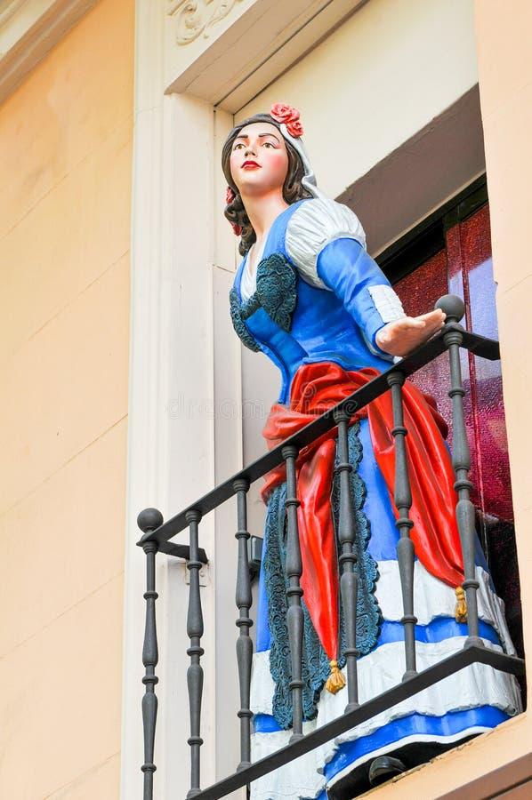 Princesa en Madrid, España fotos de archivo libres de regalías