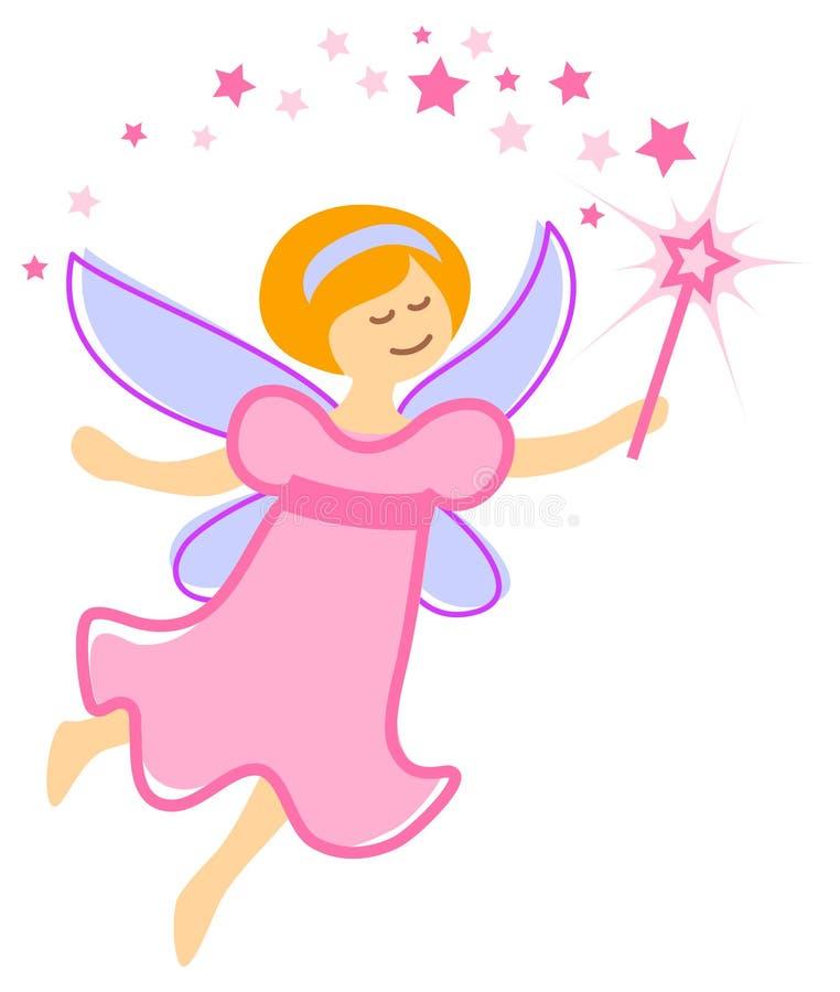 Princesa feericamente ilustração stock