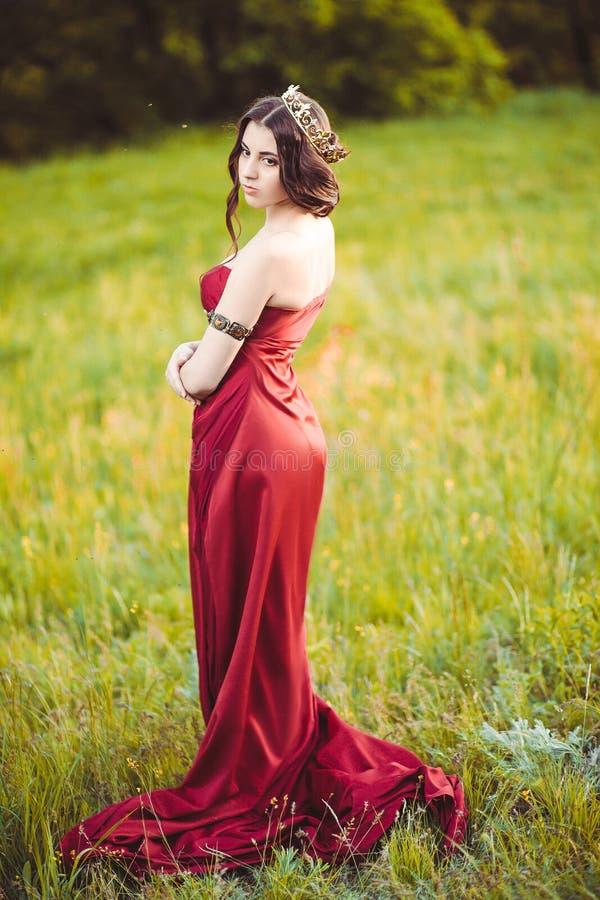 Princesa joven hermosa fotografía de archivo libre de regalías