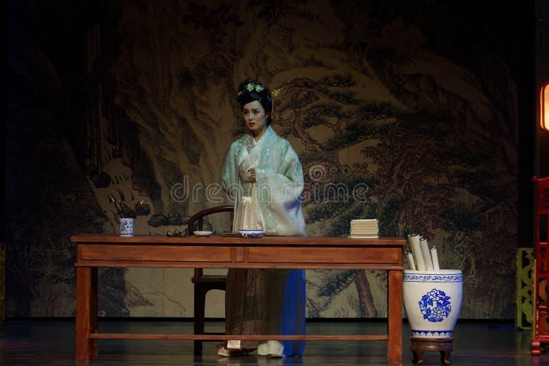 Princesa Lou hizo que un poema- en segundo lugar actúa: la noche del drama histórico ejército-grande, ` Yangming ` de tres noches fotos de archivo