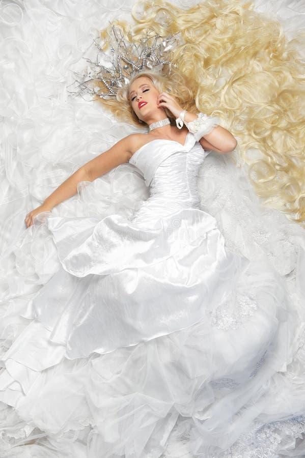 Princesa o la novia foto de archivo libre de regalías