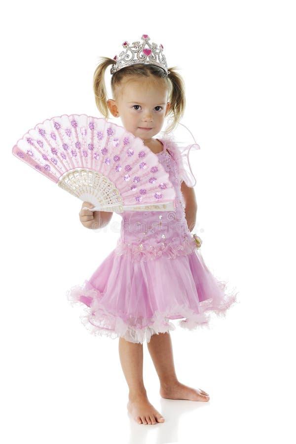 Princesa preescolar bonita fotos de archivo