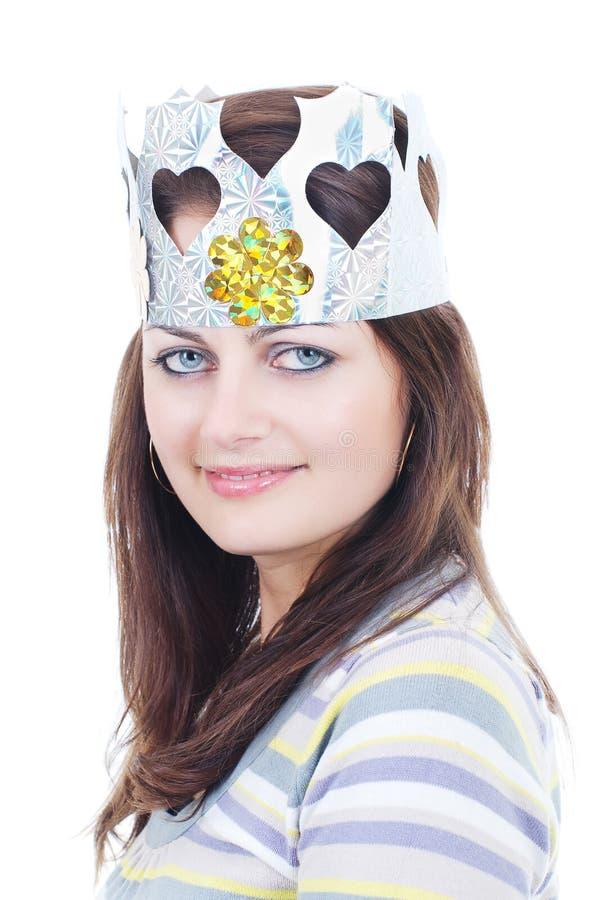 princess влюбленности кроны самомоднейший стоковое изображение rf