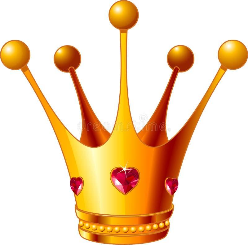 princess кроны иллюстрация вектора