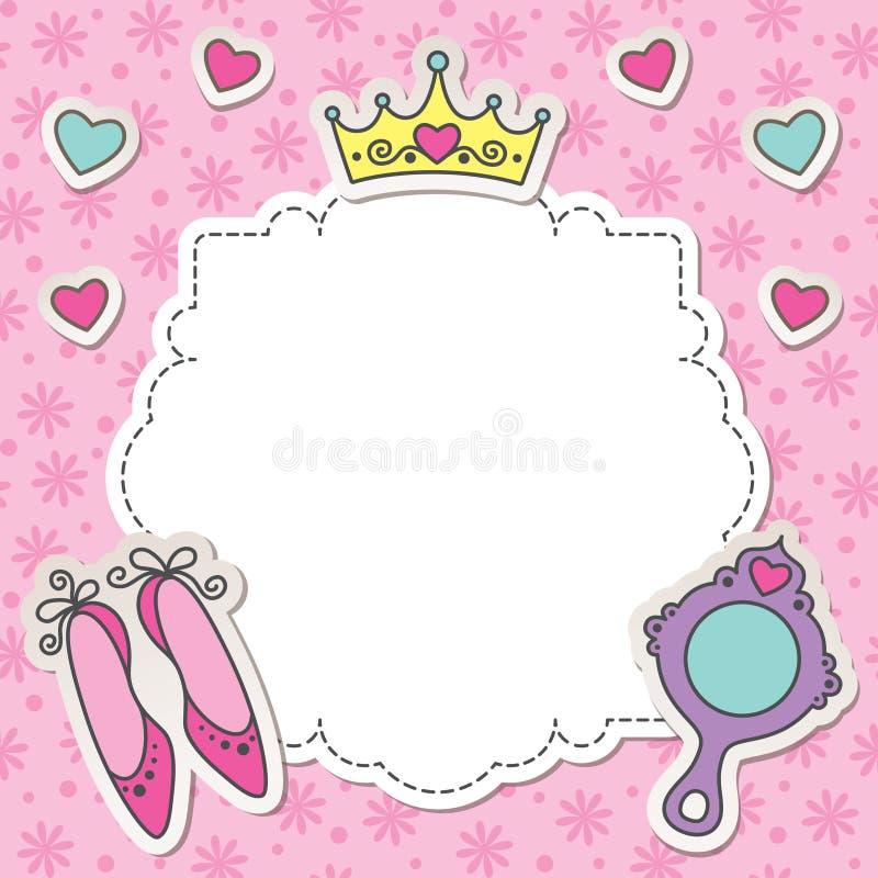 princess рамки бесплатная иллюстрация