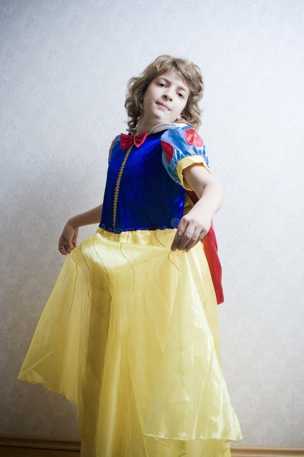 princess танцы стоковое изображение