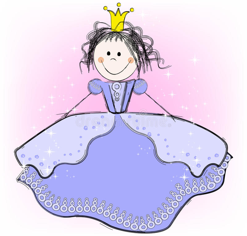 Download Princess stock vector. Image of fairy, adorable, bride - 19496158