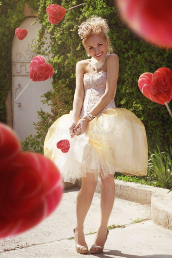 Princess obrazy stock