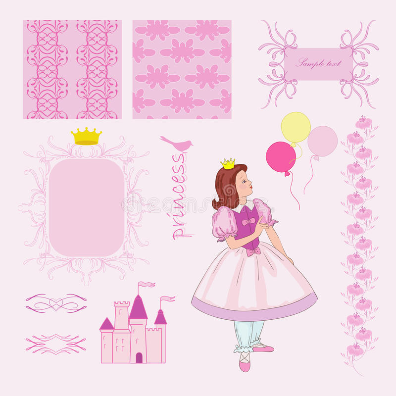 Princess royalty ilustracja