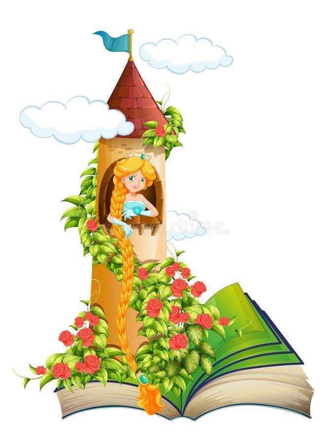 princess royaltyfri illustrationer