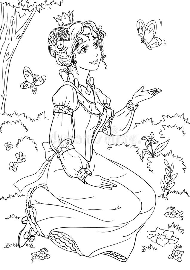 princess ilustracji