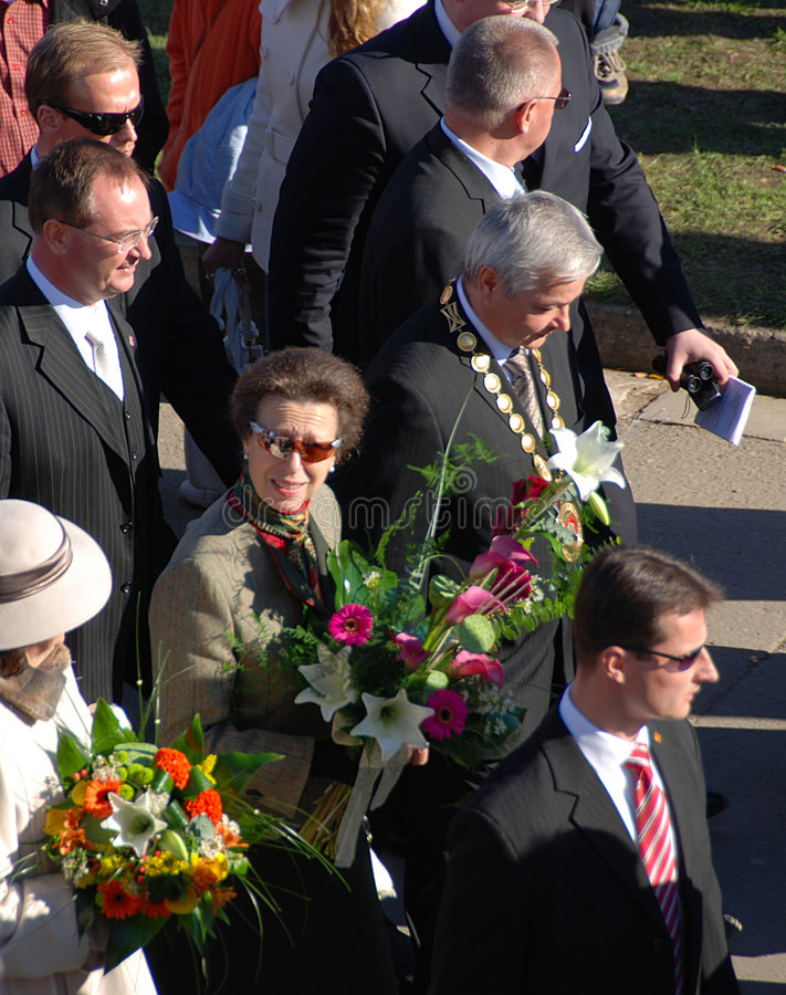 Princess Anne stock images