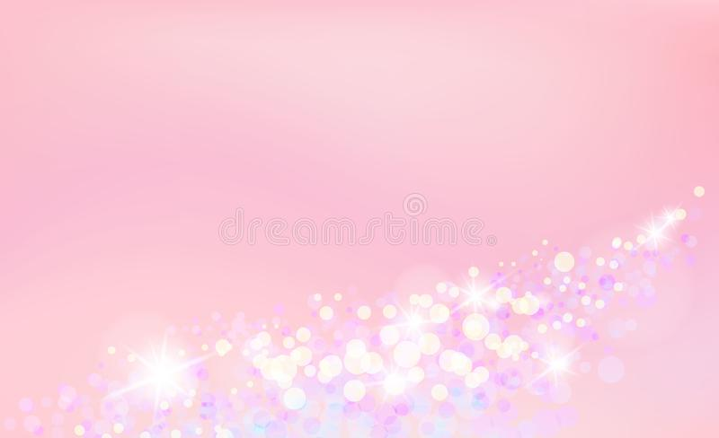 Princess background, soft wallpaper. stock images