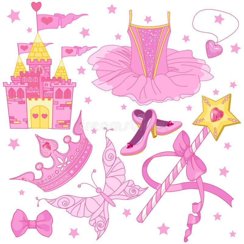 Princess Balerina set ilustracji