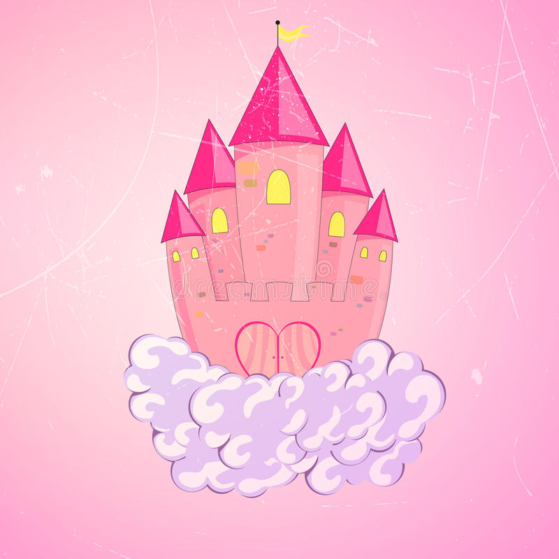 Princess Castle Royalty Free Stock Photo