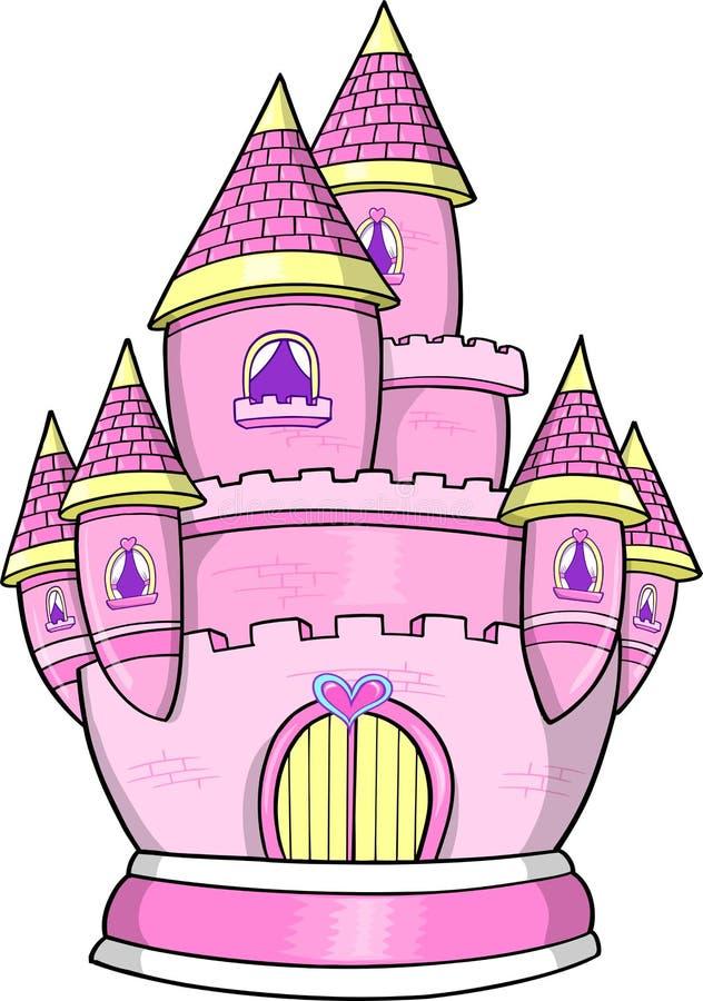 Download Princess Castle Vector Illustration Stock Vector - Illustration of happiness, vector: 10058935